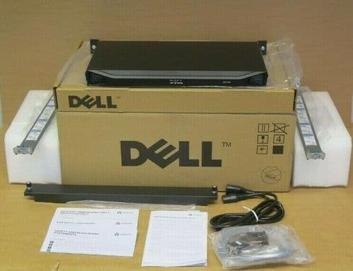 Dell Avocent MergePoint Unity 108E MPU108E 8-Port KVM Over IP Console Switch